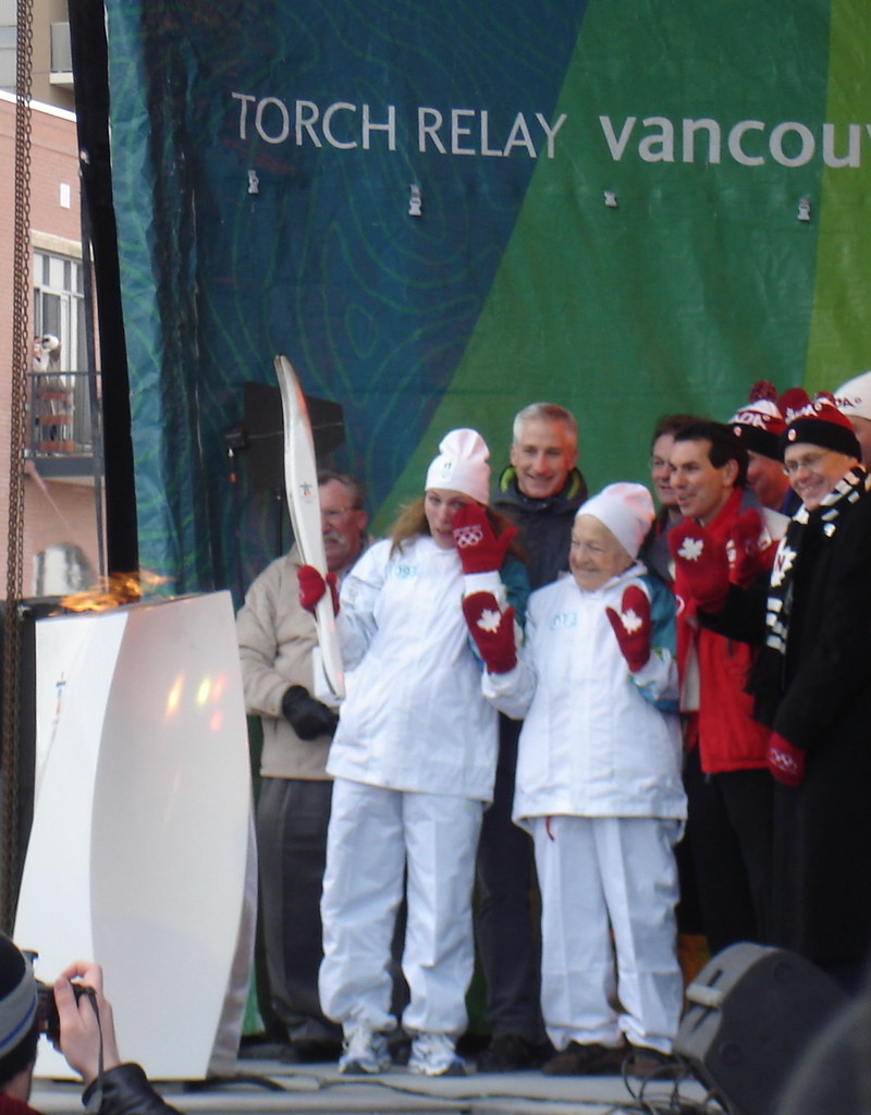 Olympic Torch in Mississauga 10i