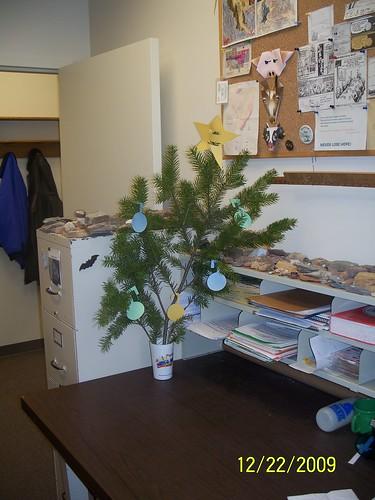 My Office Christmas Tree