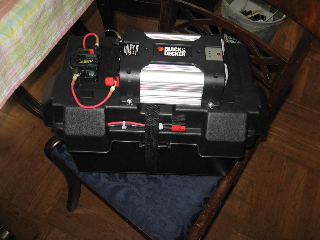 Battery box 1