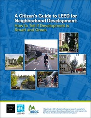 cover of A Citizen's Guide to LEED-ND (by: NRDC)