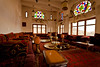 dining room inside an antique palace-old Sana'a-Yemen-صنعاء-اليمن (anthony pappone photography) Tags: architecture sanaa يمني 也門 공화국 아랍 예멘