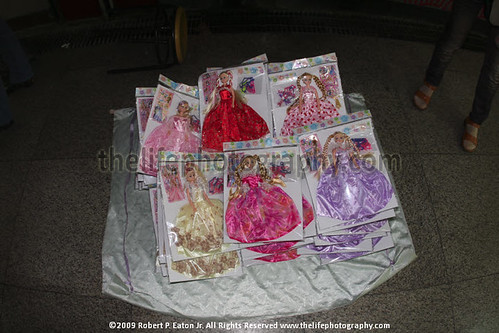 Counterfeit Chinese Barbie Dolls