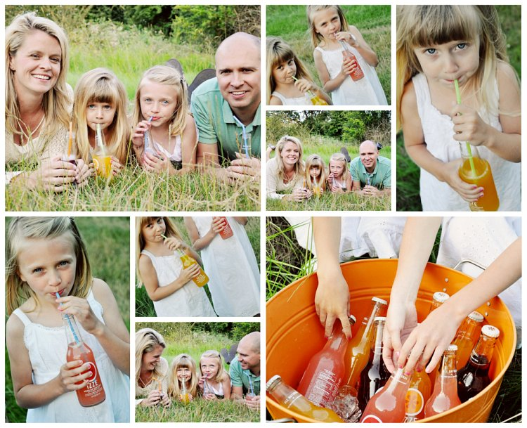 B Family Juice Collage