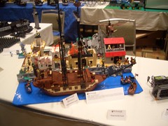 Attack of the Polite Arguement (NewRight) Tags: town village lego attack loot pirate raid pillage