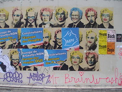 Paris Street (grainderizz) Tags: street paris art jackson marylin monroe monson