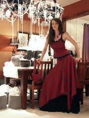 Mairi, plaid top and skirt (dunikowski) Tags: dress traje vestido kleid suknia sukienka dagnez