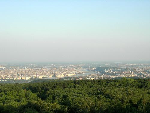 Budapest from Hármashatárhegy 4