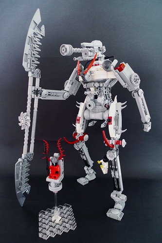 LEGO demon mecha