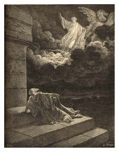 008-La ascension de Elias en el carro de fuego-Gustave Doré
