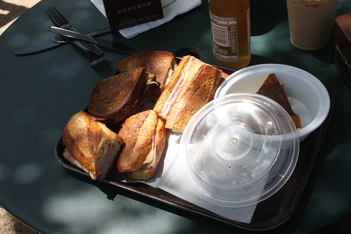 Lunch from the Bouchon Bakery