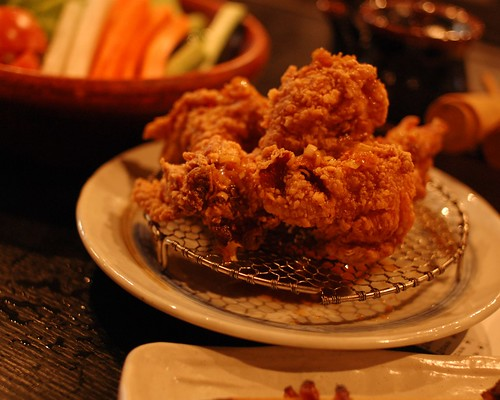 Karaage, fried chicken