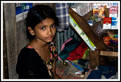 Child Worker (Tipu Kibria~~BUSY~~) Tags: portrait cute girl face canon eos kid child innocent lifestyle worker dhaka bangladesh canonefs1785mmisusm xti mohammadpur childworker 400d
