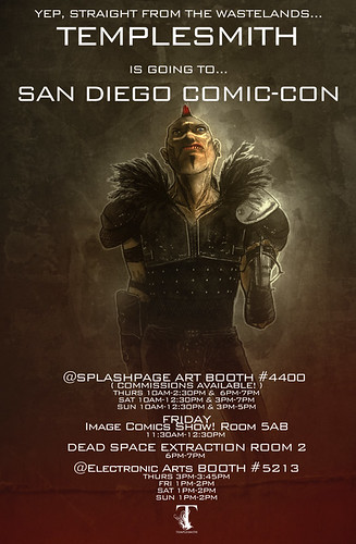 TEMPLESMITH AT SAN DIEGO COMIC-CON