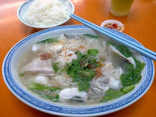 S$7 Pomfret Fish Soup