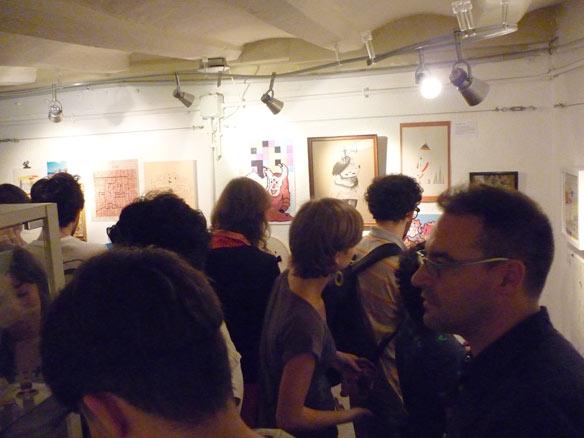 Inauguración expo Homenaje a Cobi