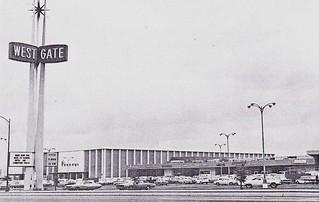 Westgate Shopping Center San Jose 1960s