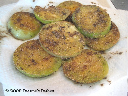 """Fried"" Green Tomatoes"