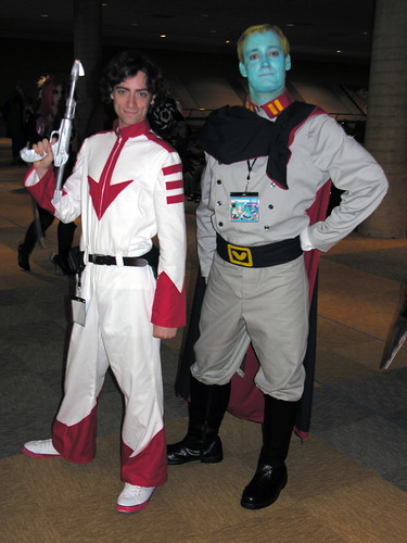 Cosplayers from Space Battleship Yamato