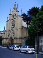 Gothic church, Gijon, Spain (streeter) Tags: spain asturies xixón