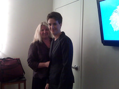 Back stage at the Tonight Show (The Rachel Maddow Show) Tags: thetonightshow msnbc conanobrien rachelmaddow therachelmaddowshow susanmikula