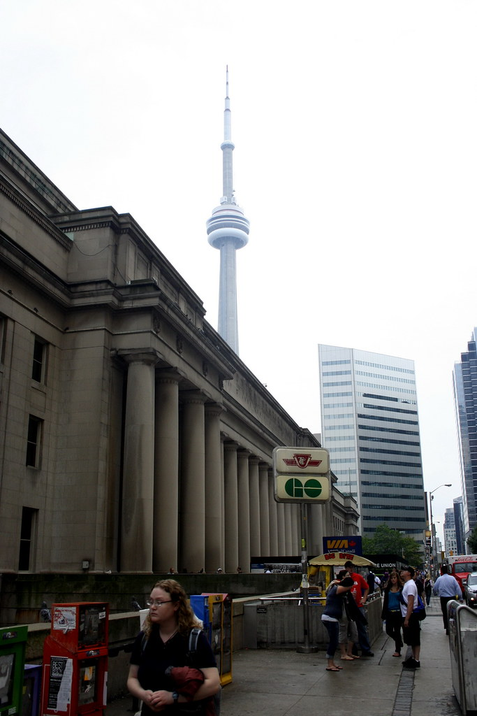 Union station & CN Tower