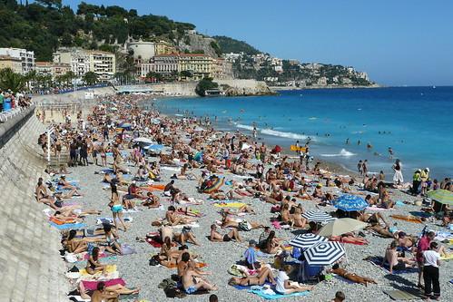 Teens french riviera beach