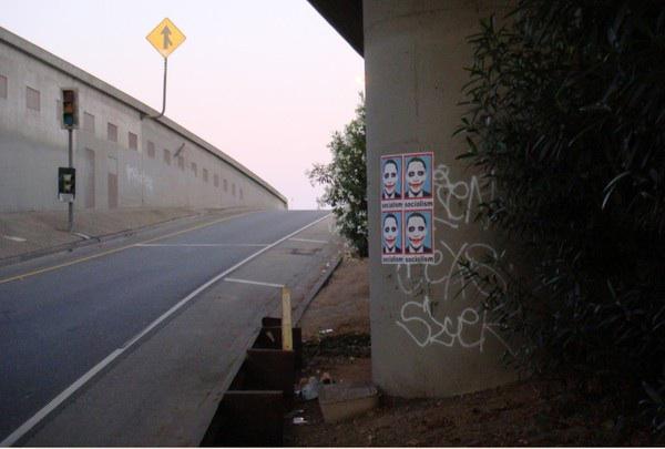poster Obama joker Los Angeles