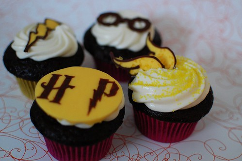 Collection of Harry Potter Cupcakes