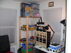 LEGO setup at home