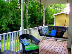 Would you like to sit a spell & relax on the front porch?