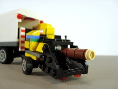 Vermeer Wood Chipper (Ricecracker.) Tags: wood lego fig mini figure vermeer minifig chipper minifigure minifigscale