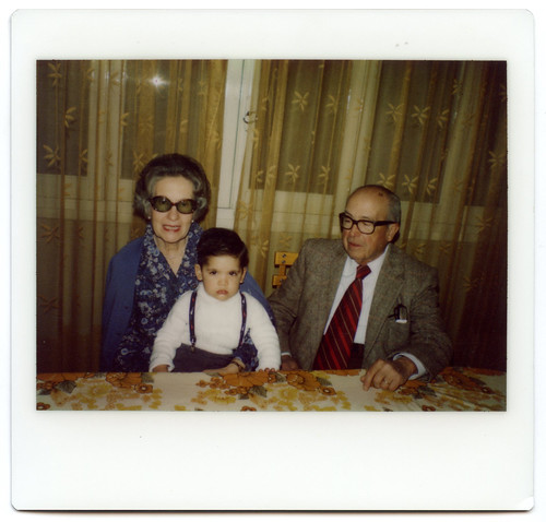 Me and My Grandparents, circa 1984