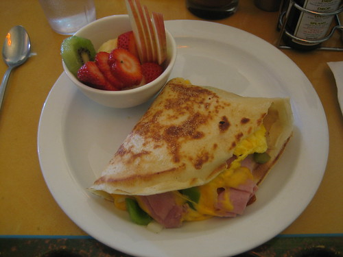 365/63: breakfast crepe