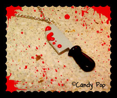 Collar cuchillo sangriento xD (♥ CandyPop ♥) Tags: hello food color cute art monster mobile pen diamonds skull necklace beads nice strawberry doll hand candy heart sweet tofu nintendo kitty dal jewelry ring plush business made fimo nails fabric cupcake card planning clay swap domo ear ment keitai blythe nes earrings re draw collar dexter tablet candies takara hama jun dulce kun snes hentai kawai boceto tokidoki polymer hannari thisy