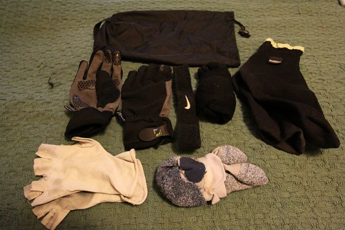WT EQP: Stuff sack with socks and gloves etc.