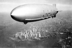 USS Macon over NYC (lazzo51) Tags: aviation science usnavy blimps airships zeppelins luftschiff dirigibles ussmacon zrs5