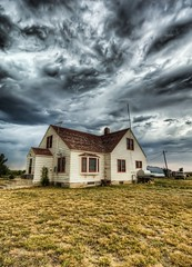 Running to the Storm Cellar on the Farm (Stuck in Customs) Tags: world travel windows usa house storm west color field rain clouds danger farmhouse rural america landscape photography high intense scary dangerous nikon midwest montana day escape power dynamic stuck northwest outdoor farm ominous foreboding awesome united north d2x dramatic august running safety photograph angry states wilderness portfolio marbled plains 2008 tornado range cellar hdr trey customs stormcellar swirling maelstrom rudyard bracing unleash ratcliff d2xs stuckincustoms