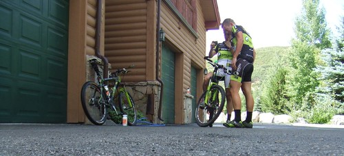PCP2P: Day before the race spin