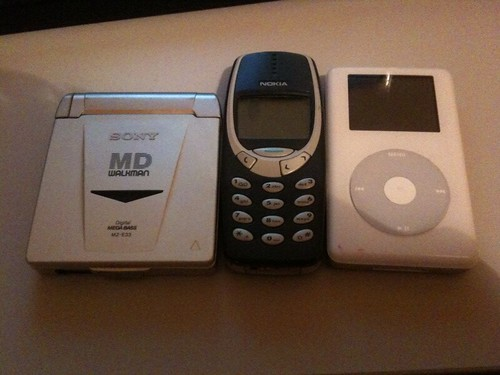 Old gadgets of mine....