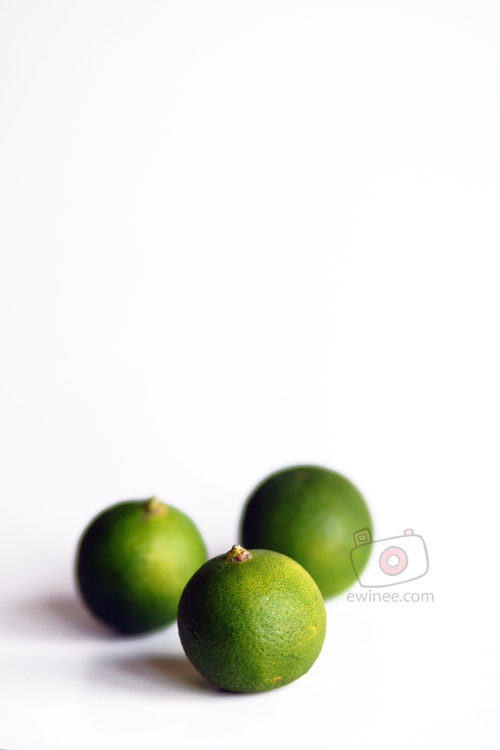 Lime fruit photography