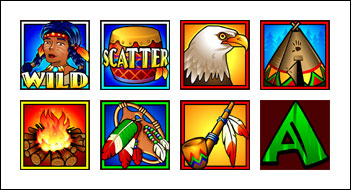 free Golden Goose Totem Treasure slot game symbols