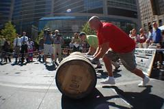 Gemuetlichkeit Games (thadd) Tags: ohio fountain square fun nikon downtown cincinnati games oktoberfest fisheye gemuetlichkeit zinzinnati opteka d40