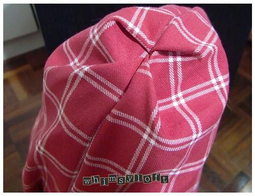 Red Plaid Sling Bag2