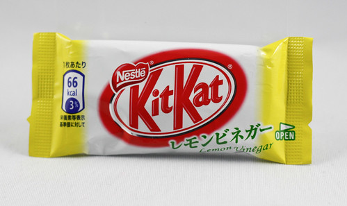 Everybody loves Lemon Vinegar flavored Kit Kats no?