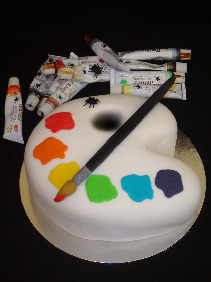 23_Artist_Palette_Cake_by_Verusca
