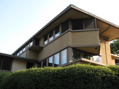 Frank Lloyd Wright's Gilmore House in the University Heights neighborhood of Madison - pdtoth