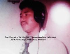 Late Nagendra Sen Chakma (Bhante Pragya) Tags: pragya chakma mizoram bhikkhu bhante