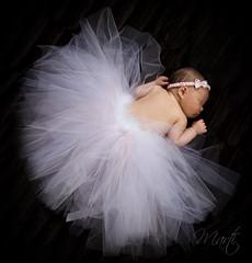 Newborn ballerina (FLPhotonut) Tags: pink sleeping portrait baby ballerina infant newborn tutu headband onblack homestudio canon50d flphotonut hairygitselite interfitex150mkii homemadeprop