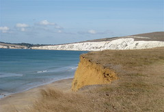 Freshwater Bay, Isle of Wight (wonky knee) Tags: uk sea beach cliffs shore isleofwight freshwaterbay comptonbay