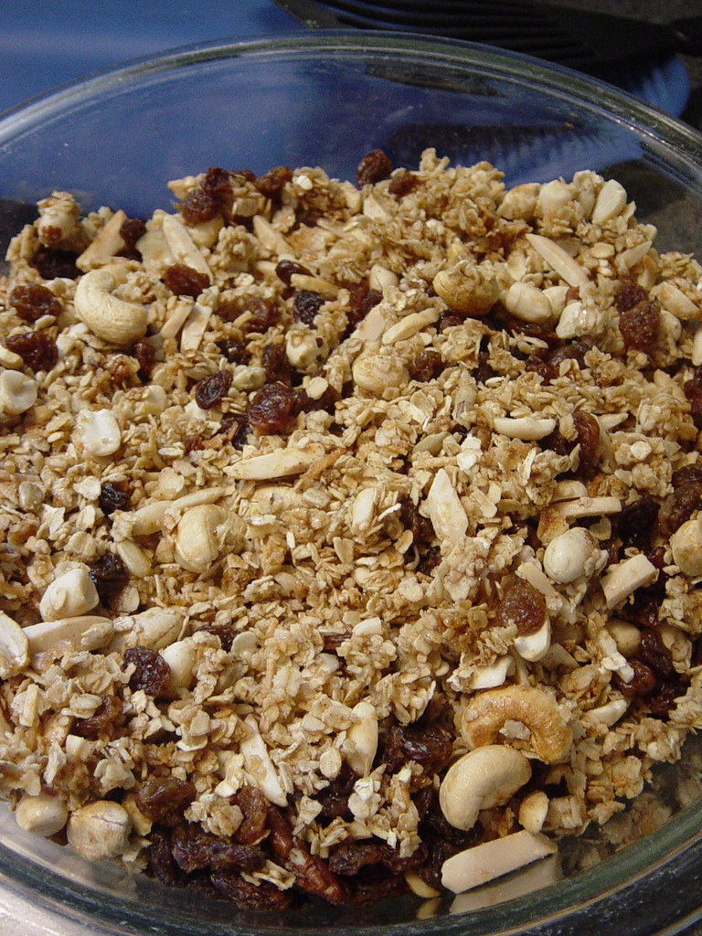 Alton Brown's Granola
